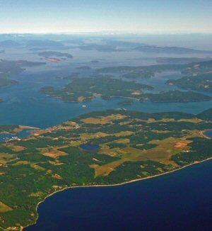 San Juan Islands Aerial Tour