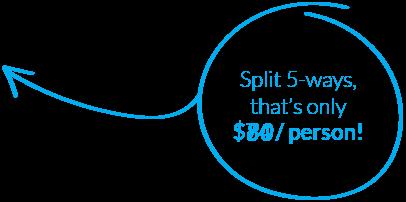 Split 5 Ways